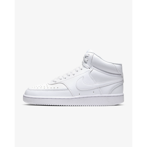 NIKE WMNS COURT VISION MID SNEAKERS DA BASKET DONNA IN PELLE
